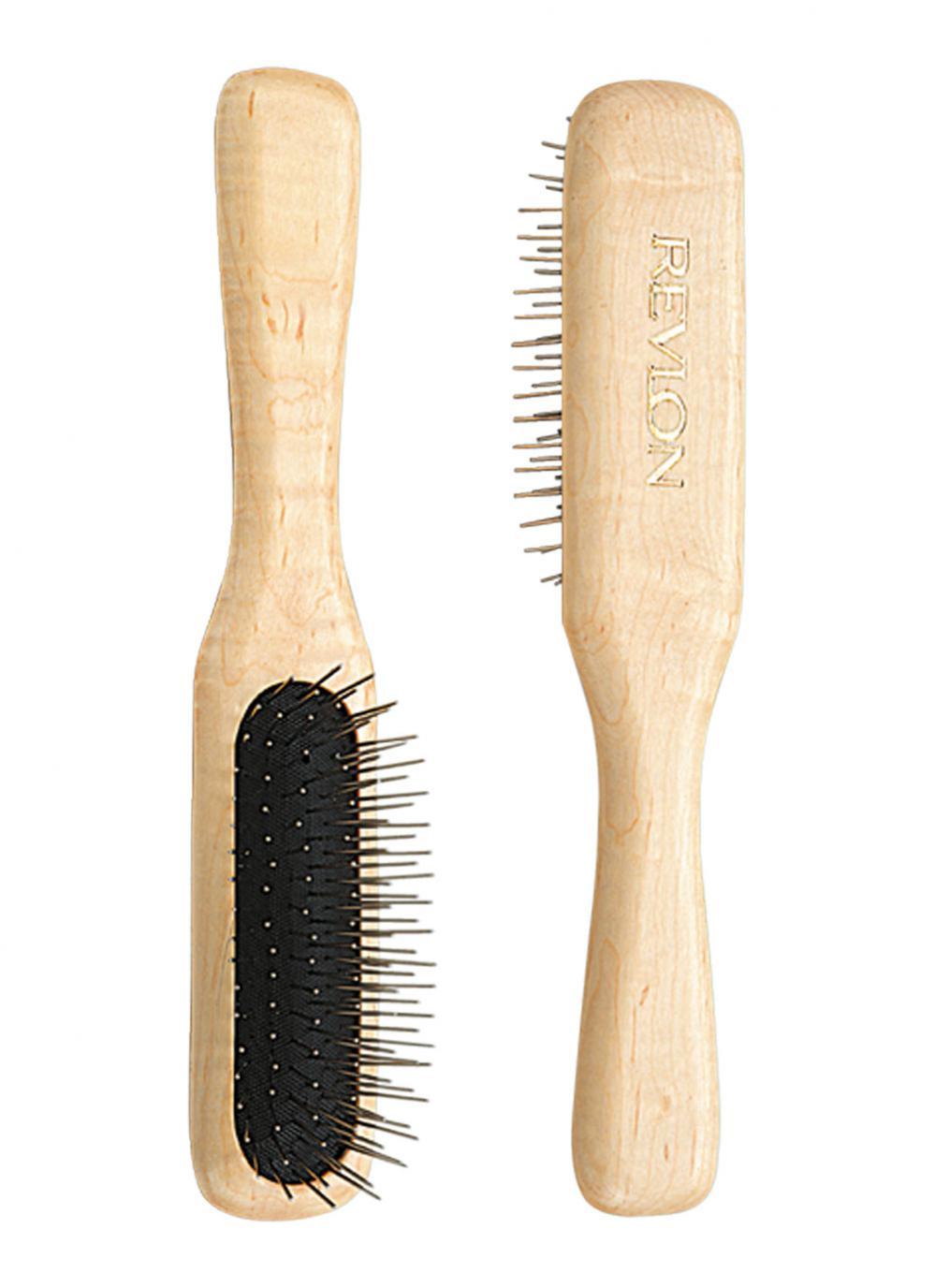Fancy Hair Zubehör: Holzbürste für Kunsthaar
