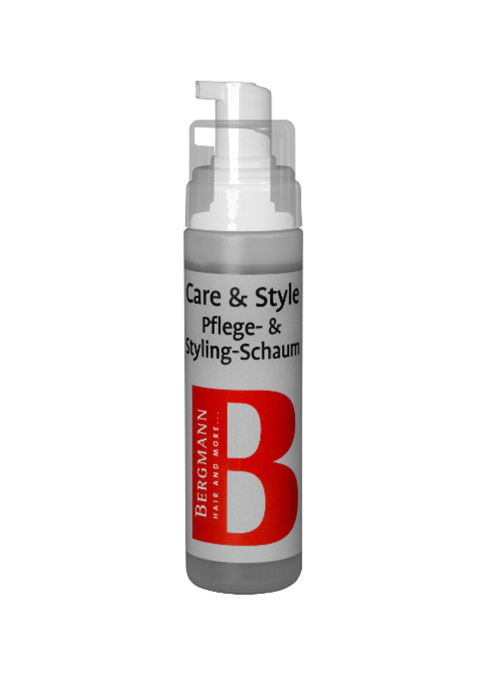 Bergmann Zubehör: Care & Style Pflege & Styling Schaum 200ml