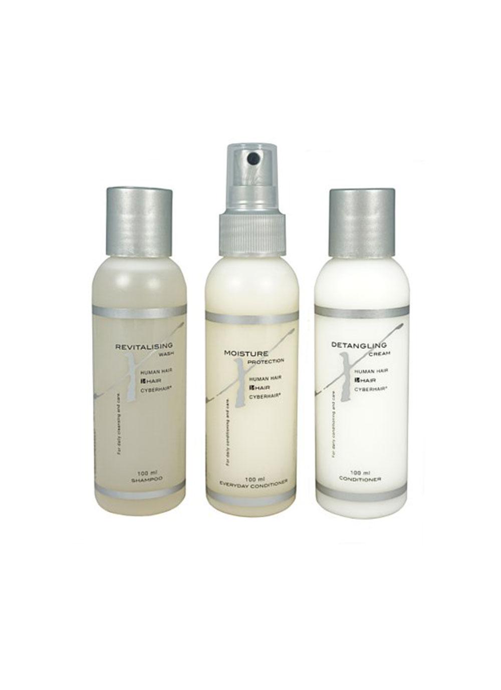 Fancy Hair Zubehör: Mix Hair Pflegeset Klein Echthaar